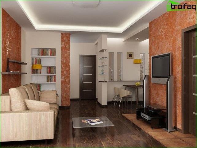 Fotos de la cocina-sala de estar
