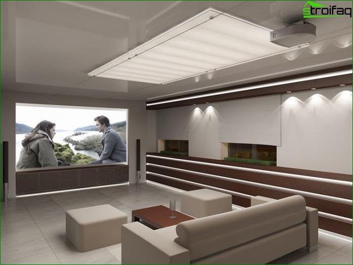 Salón de estilo de alta tecnología - foto