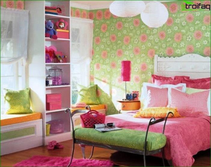Foto de la habitación de los niños.