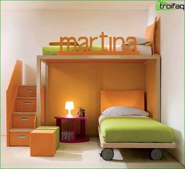 Diseño fotográfico de una habitación infantil para niña 2