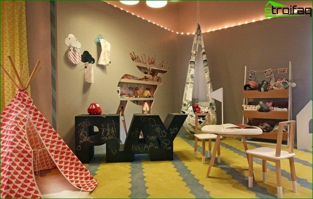 Diseño de guardería para preescolares de 4 a 7 años.
