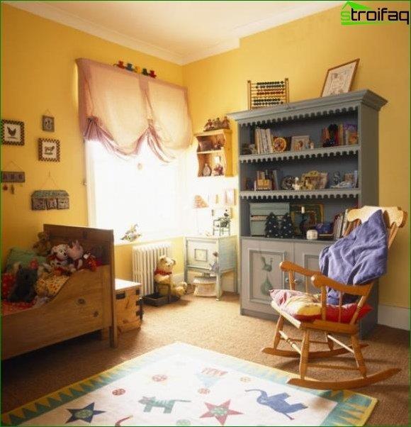 Diseño de una habitación infantil - foto