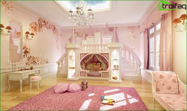 Vivero de diseño para una habitación grande.