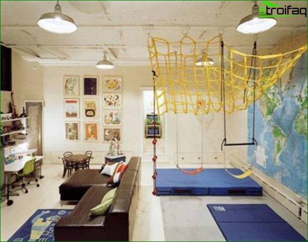 Vivero de diseño para una habitación grande 2