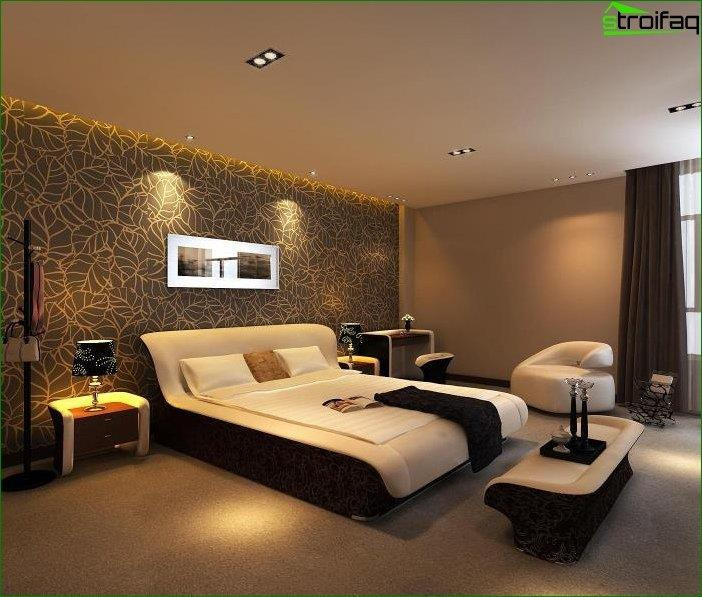 Design photo of a bedroom