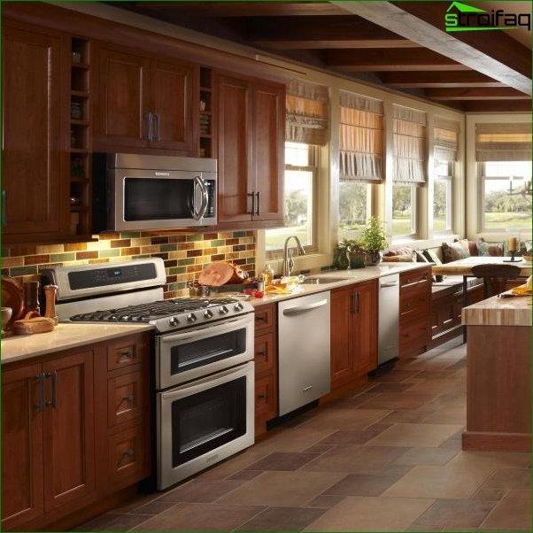 Kitchen design photo