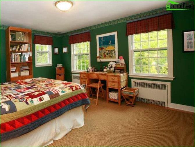 Room design 12-15 sq.m.