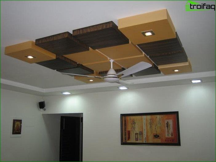 Room ceiling design