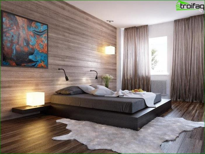 Wallpaper in the design of the room