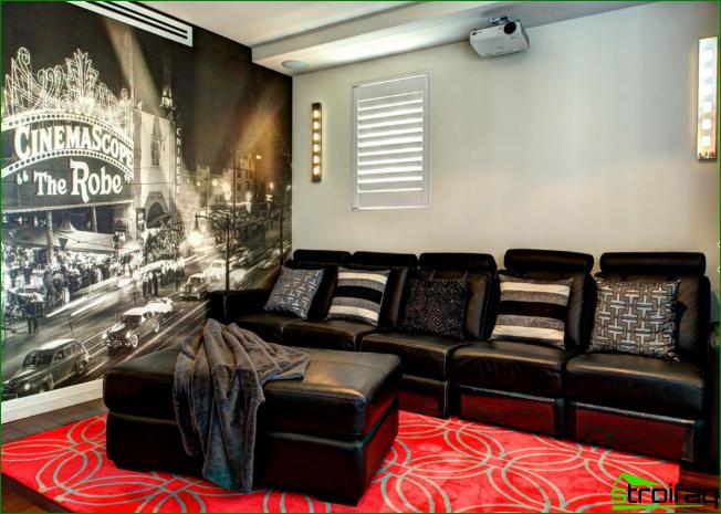 Hacer una de las paredes de una pequeña sala de estar con gráficos en 3D