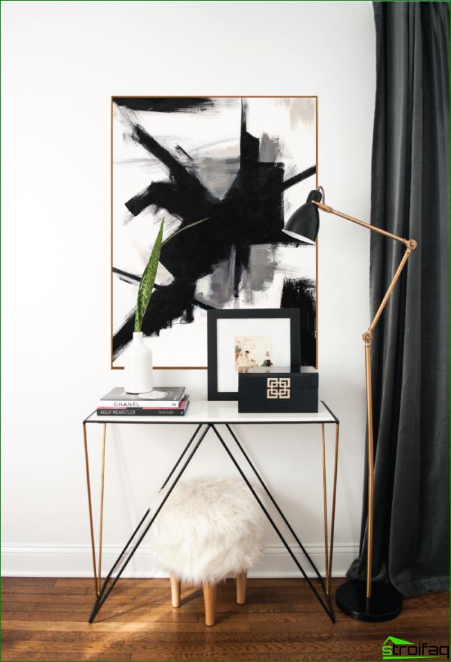 Cuadro abstracto muy dinámico perfecto para decorar la sala de estar