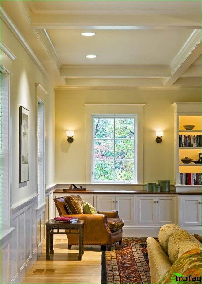 The window sill can be used not only in kitchens, it is very practical in other rooms of your house