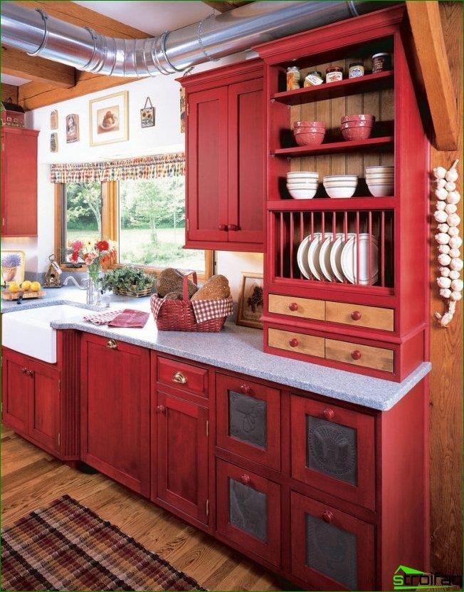 Thanks to the correct depth of the window-sill, you can complement the work surface with additional elements of the kitchen set