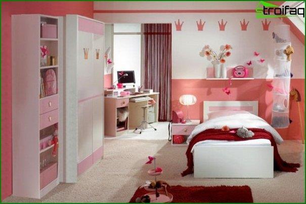 Habitación para una niña - foto 3