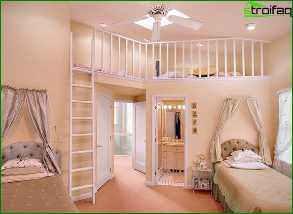 Diseño de una habitación infantil 3