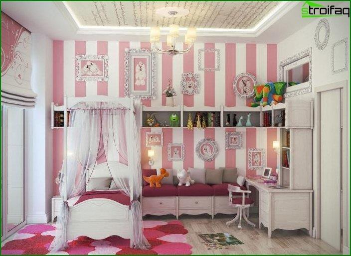 Interior de una habitación infantil 3