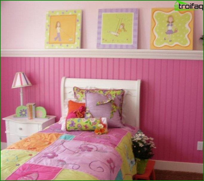 El interior de la habitación de los niños 4