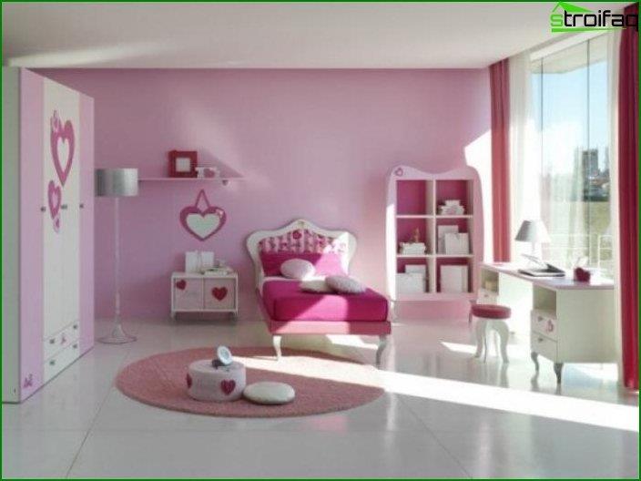 El interior de la habitación de los niños 5