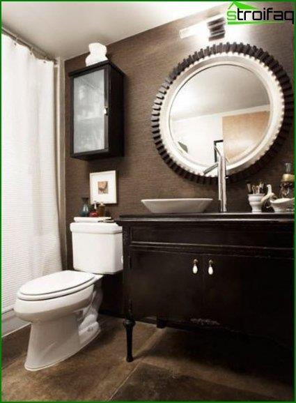 Toilet interior photo