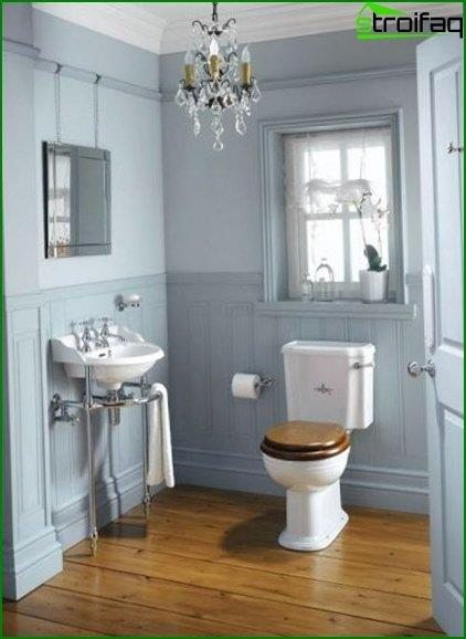 Photos of the interior of the toilet 4