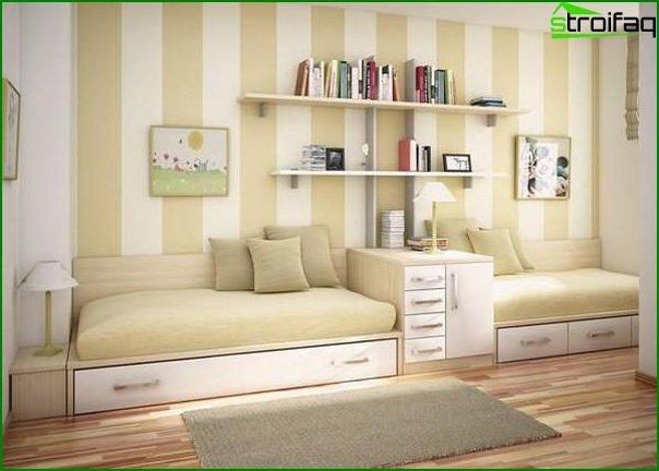 Qué muebles elegir para una habitación pequeña 4
