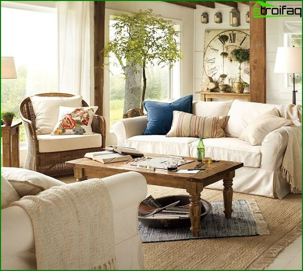 Living room furniture in a modern style (eco style) - 5