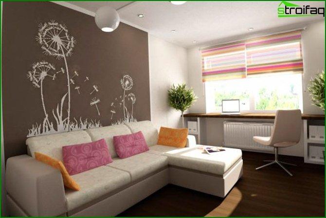شقة من غرفة واحدة في خروتشوف 2