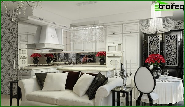 Living room furniture in a modern style (art deco) - 3