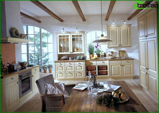 Provence style interior photo