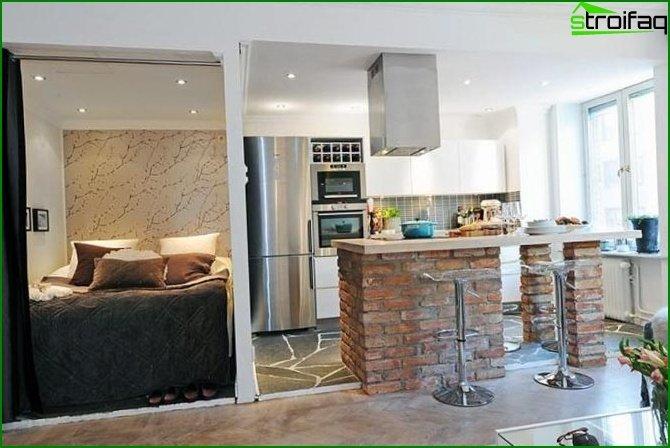 شقة من غرفة واحدة في خروتشوف 5