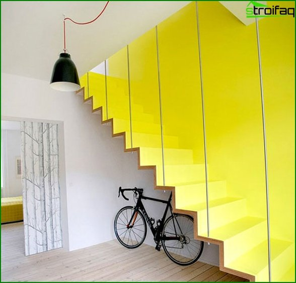 Hi-tech staircase