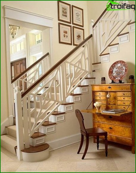 Provence style stairs