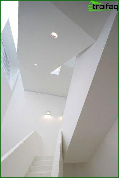 Photo of stair lighting
