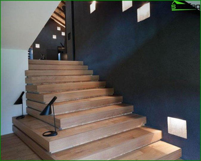 Original staircase lighting