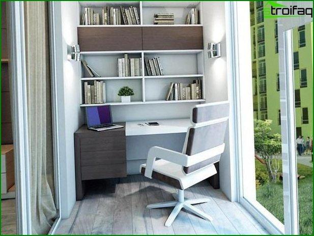 Diseño loggia gabinete 01