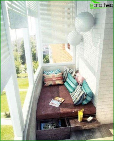 Diseño logia dormitorio 04