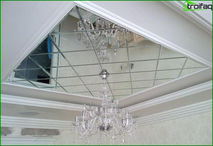 مرآة؟ السقف في غرفة المعيشة 6