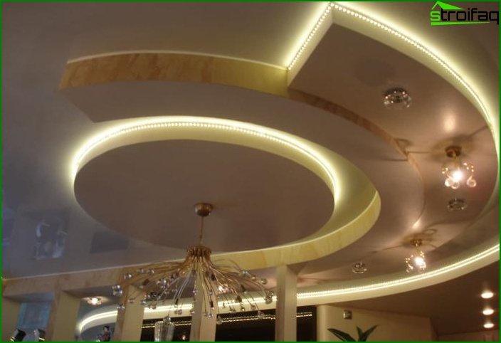 Drywall ceiling in living room 4