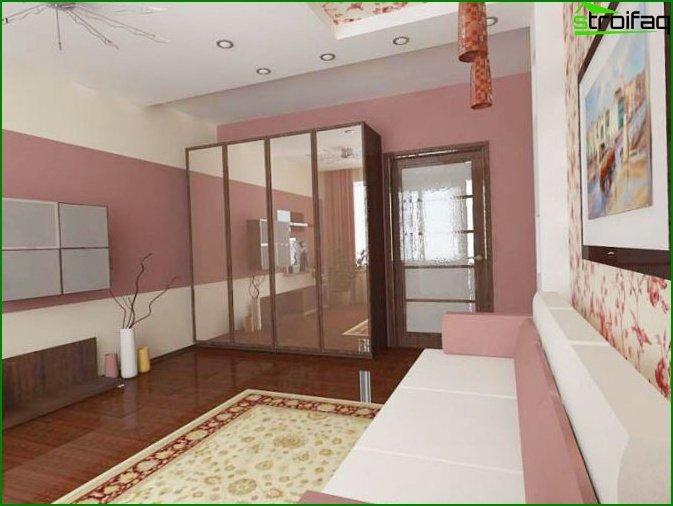 شقة من غرفة واحدة في خروتشوف 6