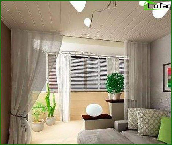 ? Si el dormitorio tiene balcón 1