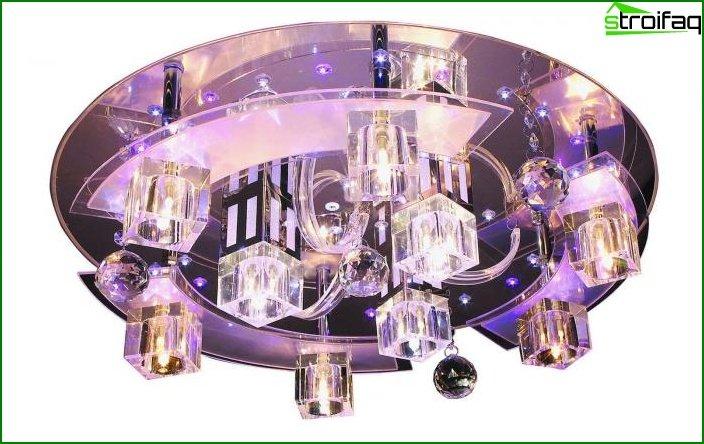 Fancy glass fixtures 7
