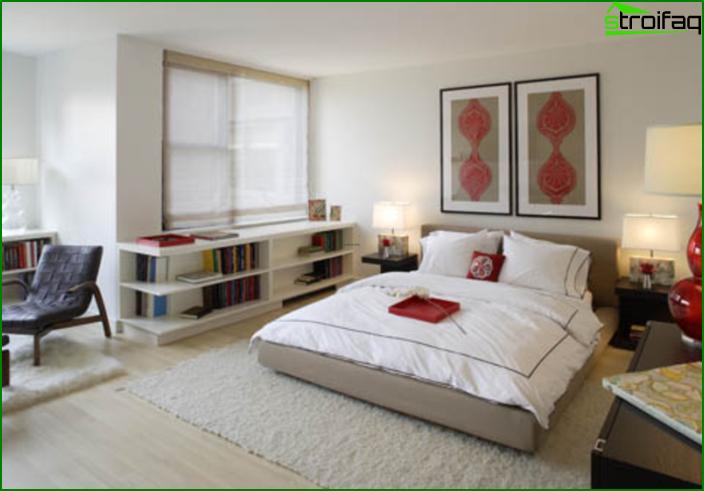 شقة من غرفة واحدة - الداخلية 10