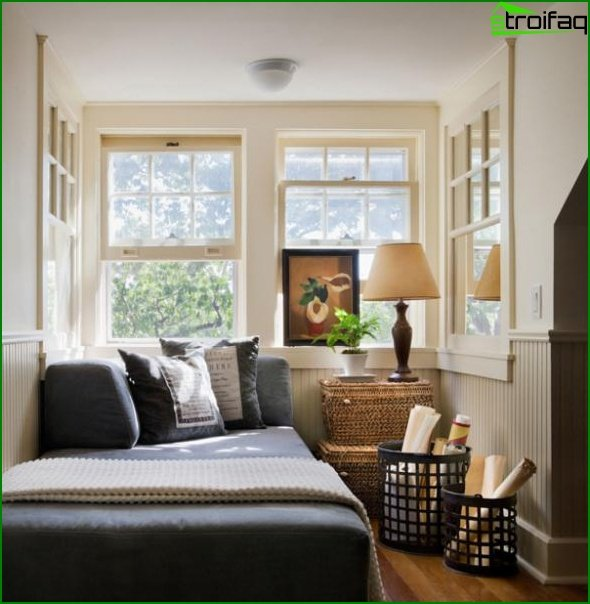 Diseño de una habitación pequeña - foto 3