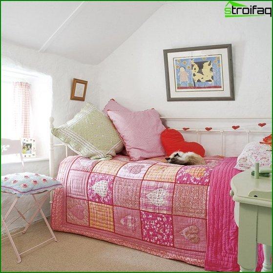Diseño de una habitación pequeña - foto 4