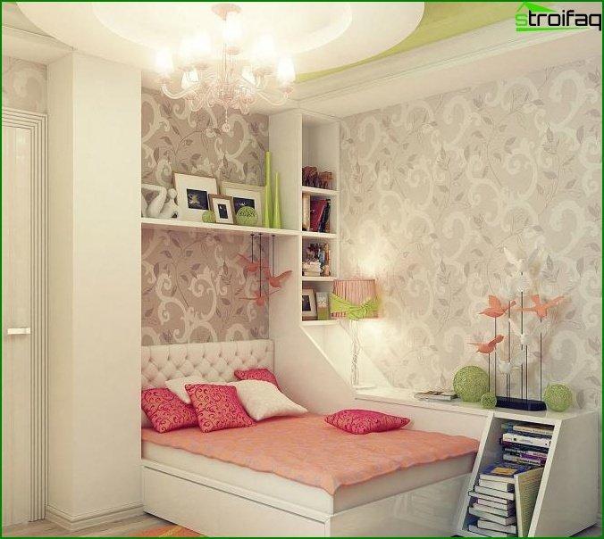 Diseño de dormitorio pequeño - foto 5