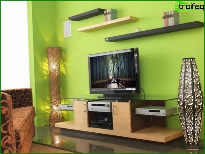 Moderna sala de estar 1