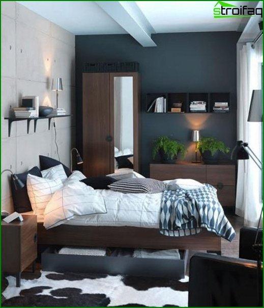 Diseño de dormitorio pequeño - foto 8