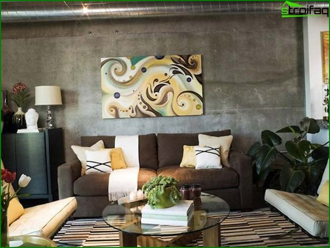 Contemporary living room 4