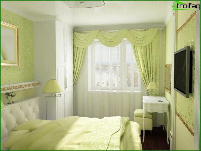 Diseño de dormitorio pequeño - foto 12