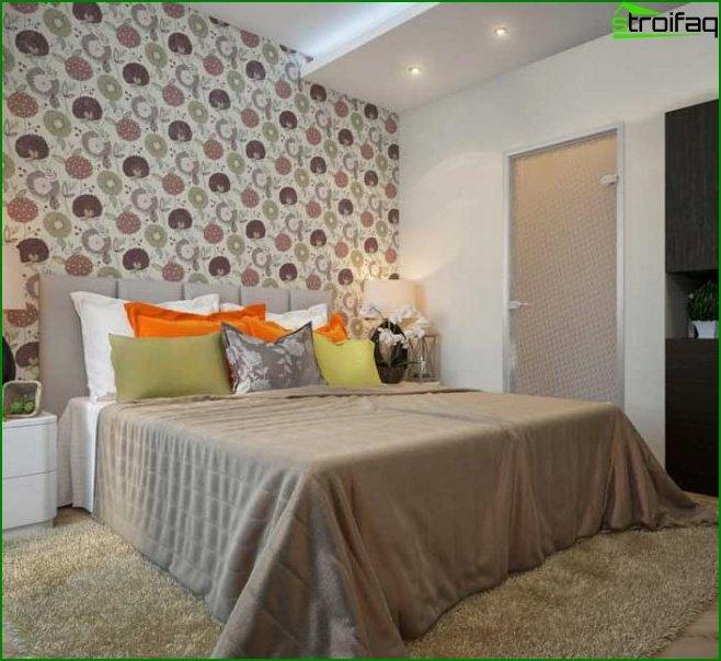 Diseño de dormitorio pequeño - foto 14